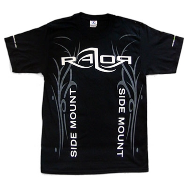 Picture of Razor Side Mount T-Shirt Black