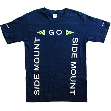 Picture of Go Side Mount T-Shirt Navy