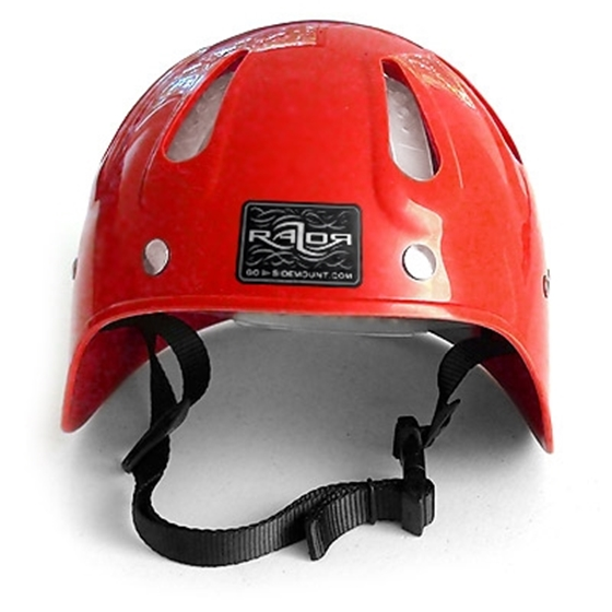 Picture of Side Mount Helmet Red