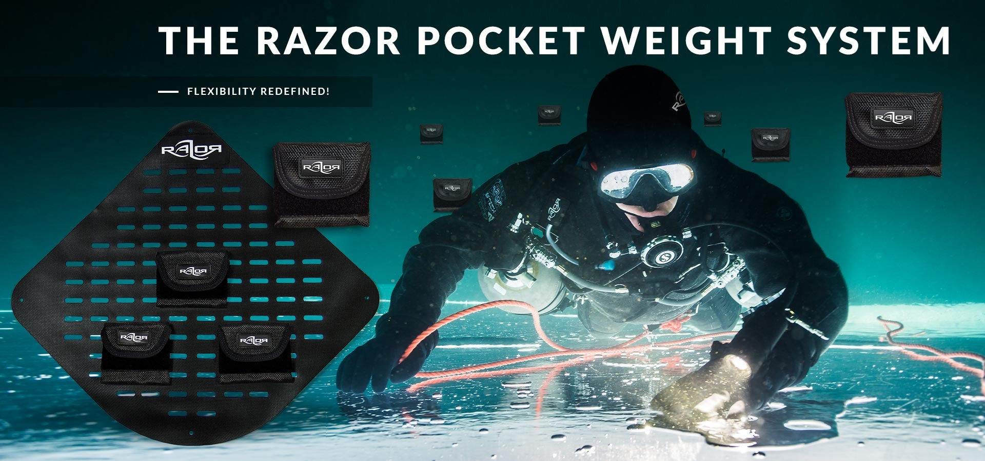 The Razor pocket weight system