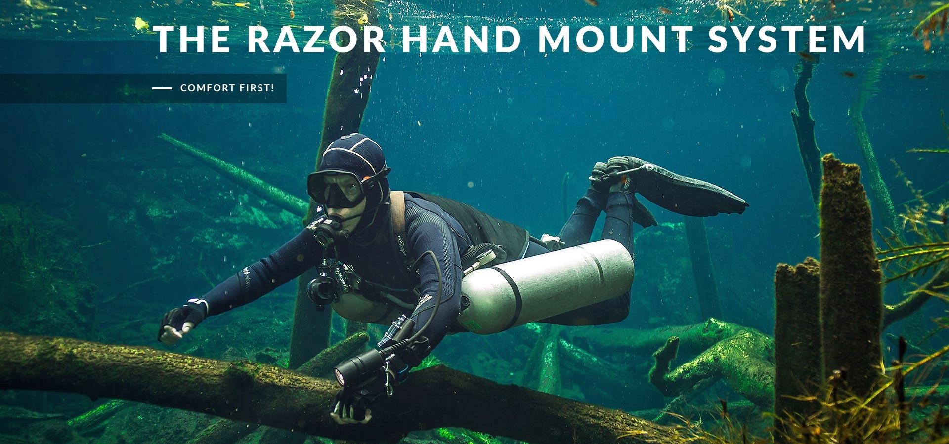 Razor Hand Mounting System