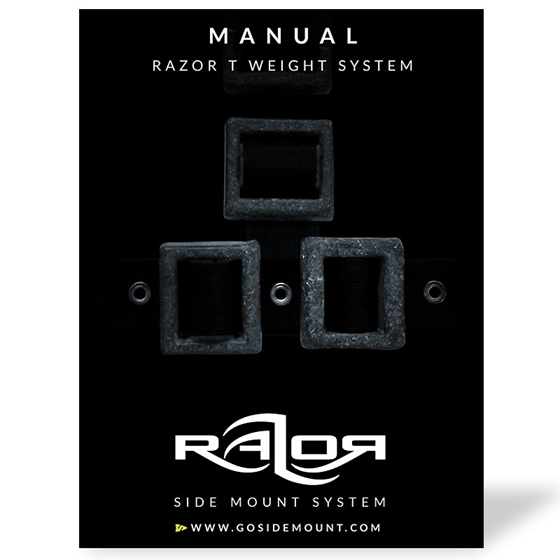 Picture of Manual for the Razor T Weight System