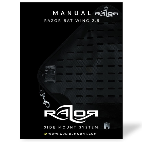 Picture of Manual for the Razor BAT Wing 2.5