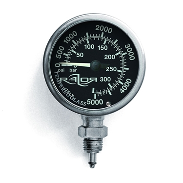 Picture of RAZOR Naked Submersible Pressure Gauge PSI/BAR