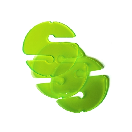 Picture of 3 Cookies (Non-Directional Marker) - Transparent Green