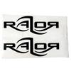 Picture of Razor Logo Sticker - Black