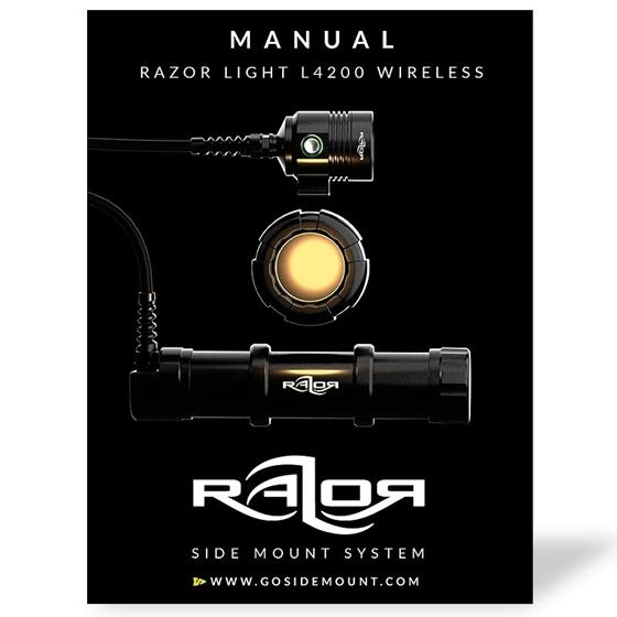 Manual for the Razor SM Light L4200